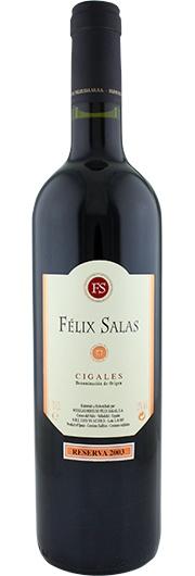 Felix Salas Felix Salas,  Reserva, D.O. Cigales