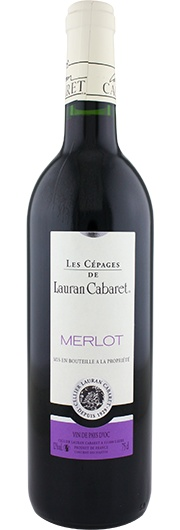 Lauran Cabaret Lauran Cabaret, Merlot, Vins de Pays de Cathare