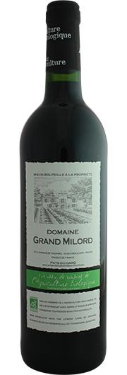 Domaine du Grand Milord Domaine du Grand Milord, Rouge, I.P. Pays du Gard (Biologisch)
