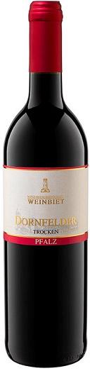 Weinbiet Weinbiet, Mussbacher Bischofsweg, Dornfelder Trocken, Qualitätswein Pfalz