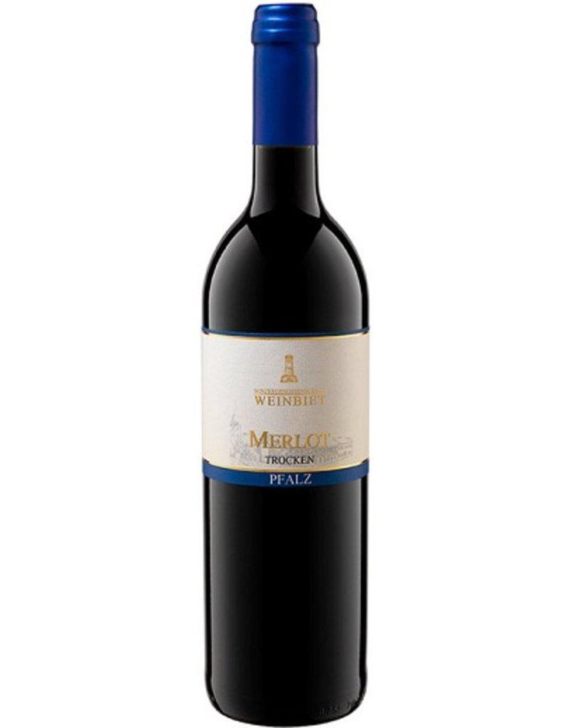 Weinbiet Weinbiet, Merlot Trocken, Qualitätswein Pfalz