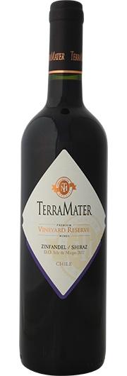 TerraMater TerraMater, Vineyard Reserve, Zinfandel-Shiraz, D.O. Isla de Maipo