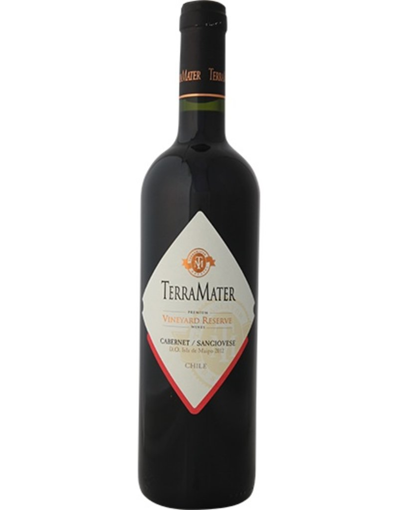 TerraMater TerraMater, Vineyard Reserve, Cabernet-Sangiovese, D.O. Maipo Valley