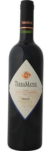TerraMater TerraMater, Vineyard Reserve, Merlot, D.O. Isla de Maipo