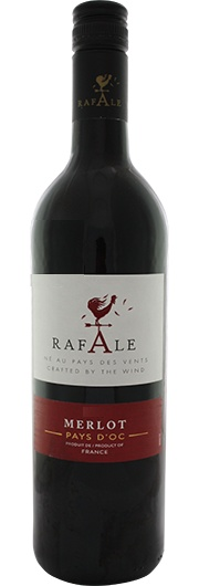 Rafale Rafale, Merlot, I.G.P. Oc