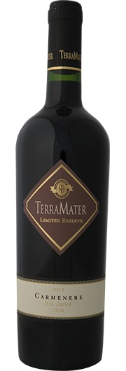 TerraMater TerraMater Limited Reserve, Carmenère, D.O. Curico Valley