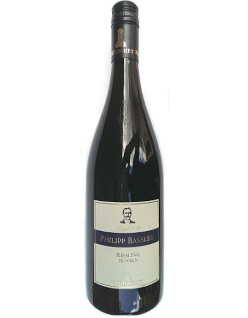 Weinbiet Weinbiet, Edition Philipp Bassler, Riesling Trocken, Mussbacher Eselshaut, Qualitätswein Pfalz