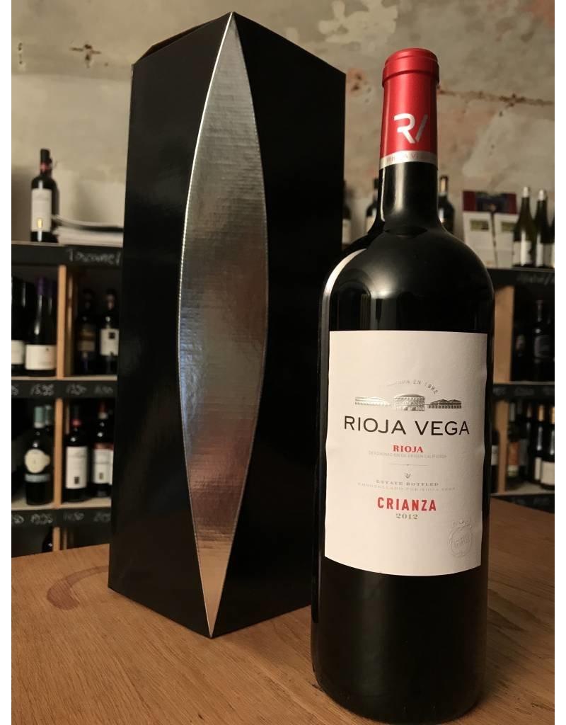 Geschenkpakket Rioja Vega, Crianza Magnum