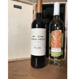 Geschenkpakket Rioja Vega & Entreflores
