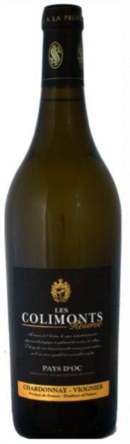 Les Colimonts Chardonnay-Viognier reservé blanc I.G.P. Pays d'Oc
