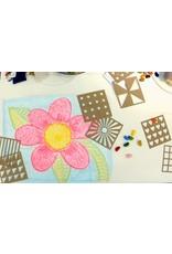 Crayon Rocks Rubeez - Eight (8) craft patterns, a cotton muslin bag 16 Crayon Rocksand a rainbowpencil