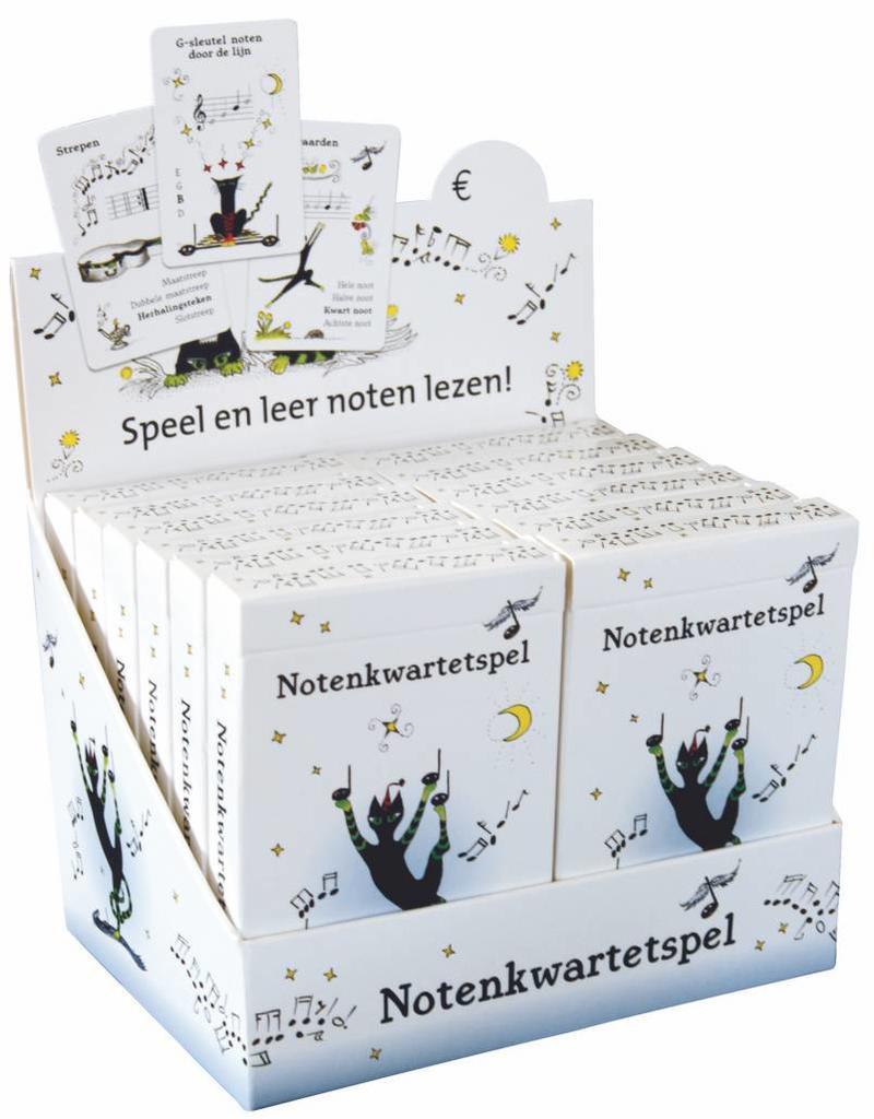 Uitgeverij The Tipbook Company Notenkwartetspel