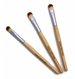 Natural Earth Paint Eco friendly paint brushes 3 pcs