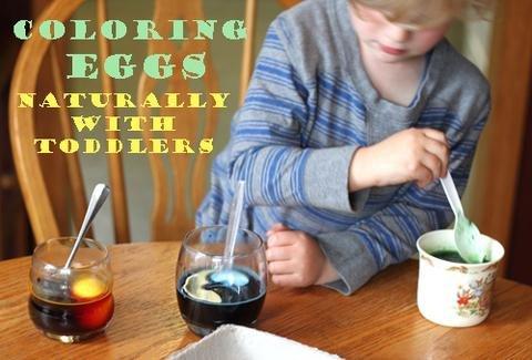 Egg DYE eieren verven
