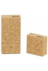 Korxx Negentien (19) bouwblokken van kurk in een starterset