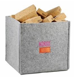 Korxx Cuboid M Filzbox - 60 kurk bouwblokken