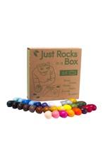 Crayon Rocks Just Rocks in a box - 32 kleuren, 64 krijtjes