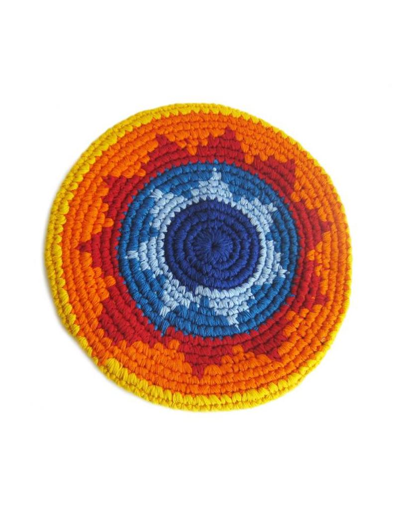 Soft flying disc, Fairtrade, made of yarn