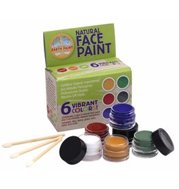 Natural Earth Paint Natural Face Paint Kit - 6 kleuren