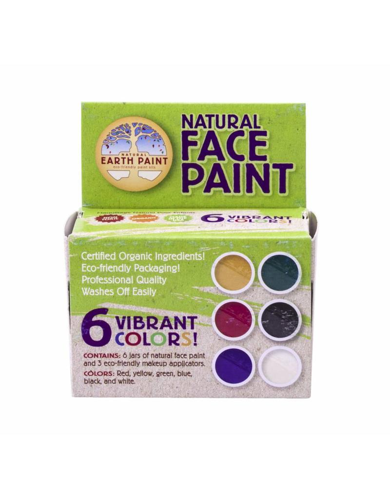 Natural Earth Paint Natural Face Paint Kit - Natuurlijke schmink in 6 kleuren