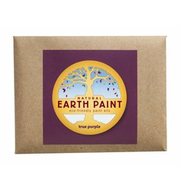 Natural Earth Paint Children's Earth Paint per kleur - paars