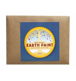 Natural Earth Paint Children's Earth Paint per kleur - blauw