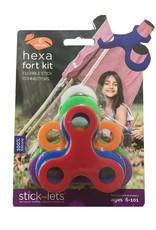 Stick-lets Hexa-Kit-Stick 6-lets