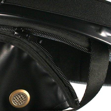 Black half helmet