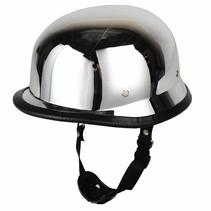 Chrome German motorcyle helmet | outlet