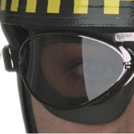 Aviator Goggle retro standard mousse gunmetal motorbril