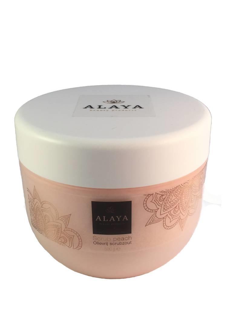 ALAYA® Alaya olievrij scrubzout 5x of 10x (salon)