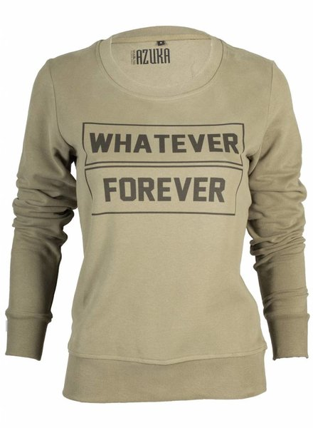 Azuka Sweater Whatever Forever Army