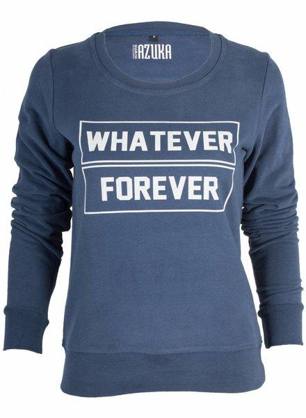 Azuka Sweater Whatever Forever Navy