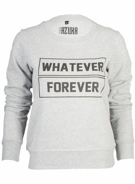 Azuka Sweater Whatever Forever Grijs