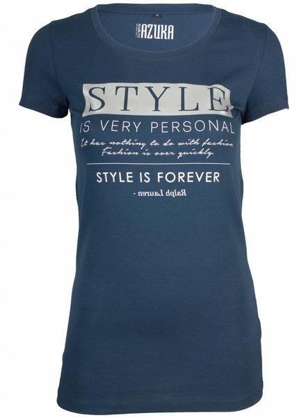 Azuka Shirt Style Navy