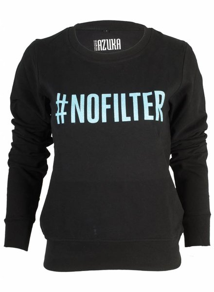 Azuka Sweater # No Filter blauw