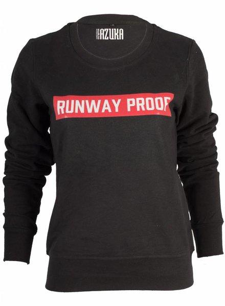 Azuka Sweater Runway proof