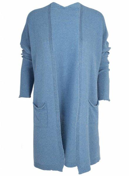 Gemma Ricceri Vest Sophie blauw