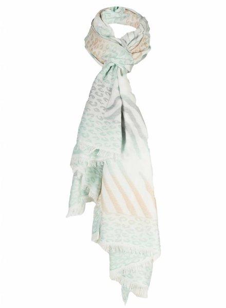 Sjaal frida groen