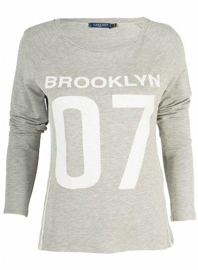 Gemma Ricceri Shirt Brooklyn grijs