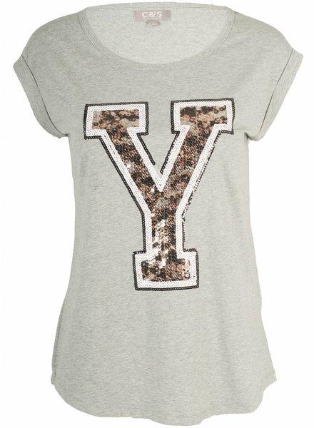 Shirt Yvi grijs