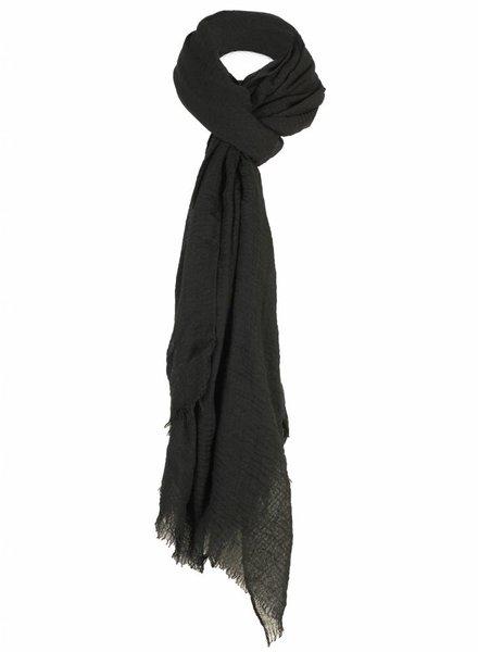 Sjaal basic Lisa zwart
