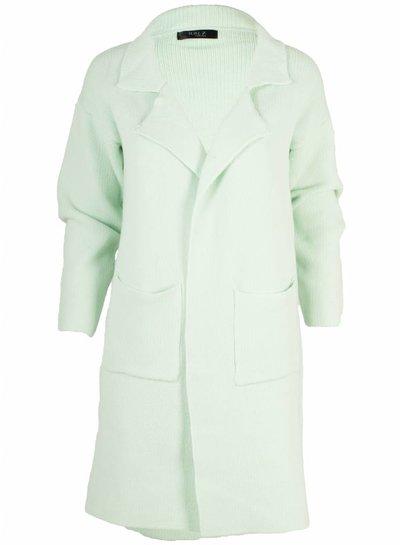 Rebelz Collection Vest Aya mintgroen