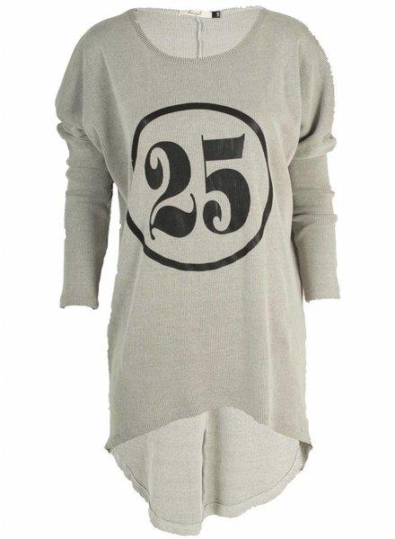 Twenty 5 Shirt 25 grijs