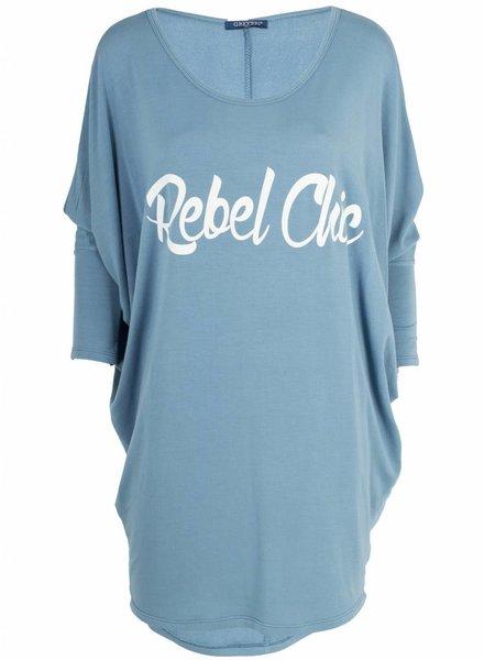 Gemma Ricceri Shirt Rebel Chic blauw