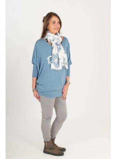 Gemma Ricceri Shirt Rebel Chic blauw