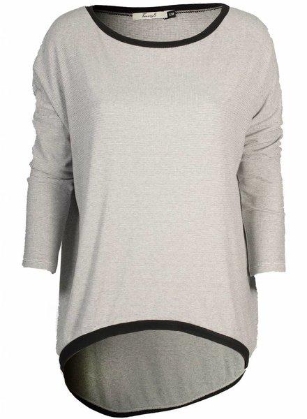 Twenty 5 Shirt wit/zwart