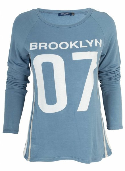Gemma Ricceri Shirt Brooklyn blauw