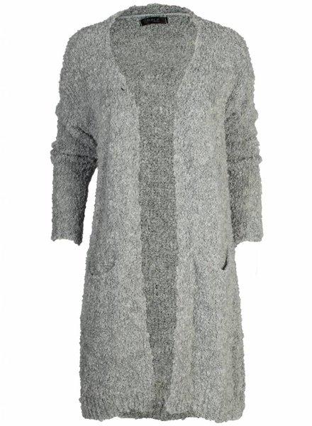 Rebelz Collection Vest Sarah lichtgrijs