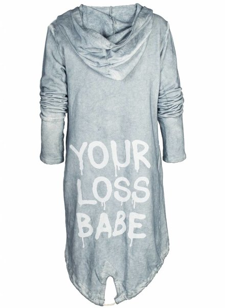 Gemma Ricceri Vest Loss Babe blauw